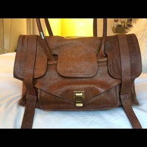 Proenza Schouler Tan Leather PS1 Keep-All Tote